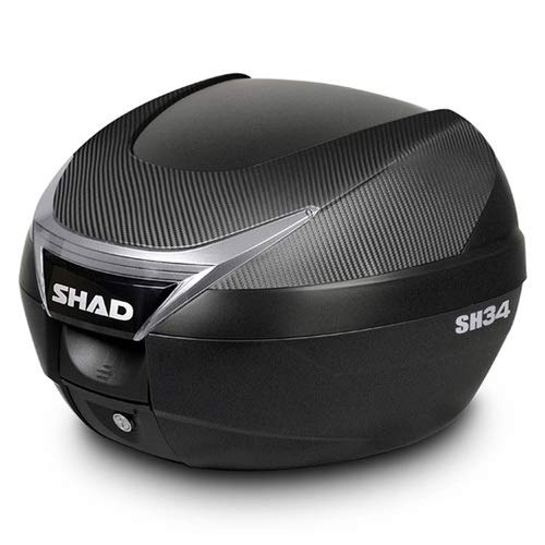 Shad D0B34106 BAÚL Moto SH34 Carbono, Other