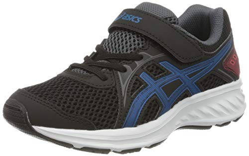 Asics JOLT 2 PS, Running Shoe, Black/Directoire Blue, 33.5 EU