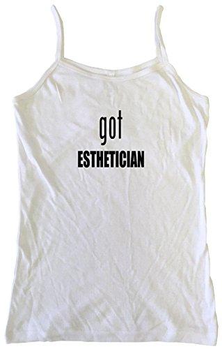 99 Volts Got Esthetician Women's Babydoll Tee Shirt Small-Tank Top
