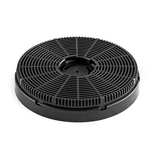 Klarstein Maverick Aktivkohle-Filter für Dunstabzugshauben, 1 x Filter, Ø 15,9 cm, Umluftbetrieb, Zubehör