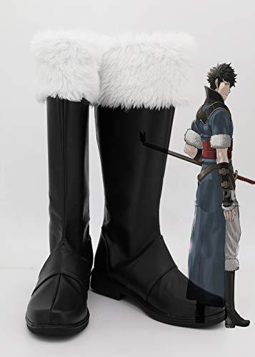 Fire Emblem: Awakening Cosplay Schuhe Lon'Qu Stiefel Für Erwachsene Männer Frauen Maßgefertigte Stiefel 44