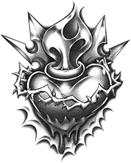 Best old school heart tattoo Reviews