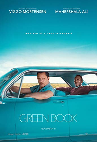 Poster Green Book Movie 70 X 45 cm
