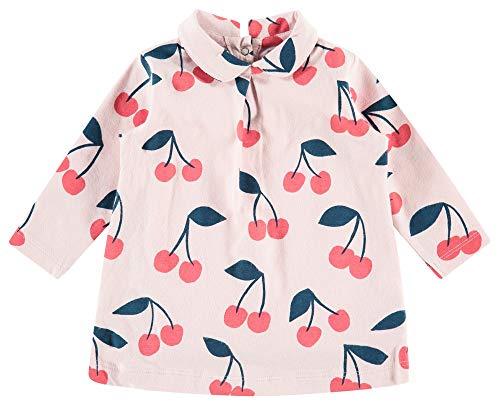 Imps & Elfs Baby-Mädchen G Dress Slim Hopetown AOP Kleid, Rosa (Lotus P471), (Herstellergröße: 62)