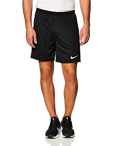 NIKE M NK Dry Park III Short NB K Pantalones Cortos de Deporte, Hombre, Black/White, L