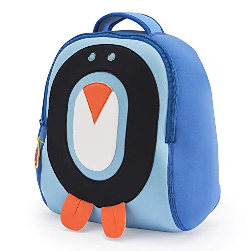 powerful Dabbawalla bag preschool backpack, penguins