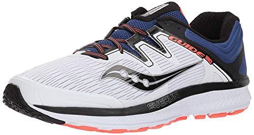 Zapatillas saucony Zapatillas Deportivas para Hombre Guía ISO White, tamaño:47