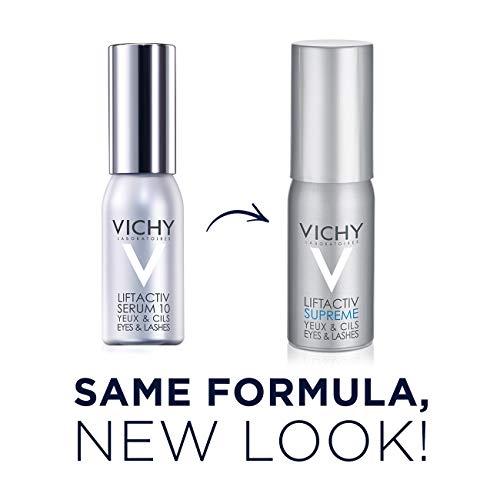 41DofzpaJ9L - Vichy LiftActiv Serum 10 Eyes and Lashes Serum, Anti Aging Eye Treatment & Eyelash Serum with Hyaluronic Acid, Ophthalmologist Tested, 0.51 Fl Oz