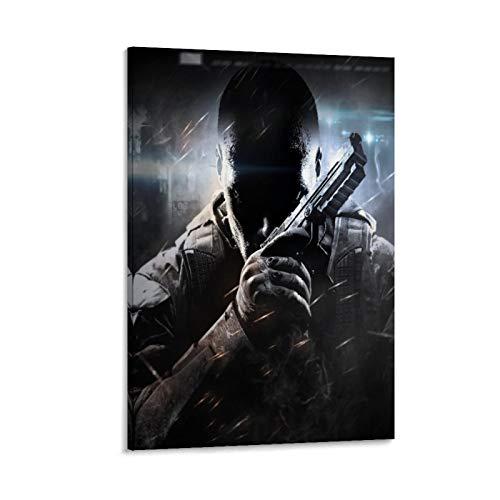 XIAOTT Póster de videojuegos de Call of Duty Black Ops 3 sobre lienzo y arte de pared, impresión moderna, para decoración de dormitorio familiar, 60 x 90 cm