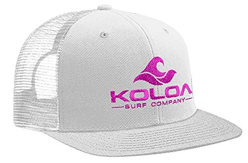Koloa Surf, gorras clásica con malla en la parte trasera, clásica, 12 colores, talla única