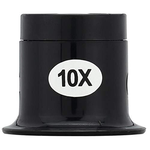 Lupa 10X, herramienta de reparación de relojes Lupa de joyería 5X 10X para inspeccionar piezas pequeñas para el reloj(10)