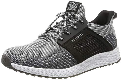 bugatti Herren 342623626900 Slip On Sneaker, Grau, 44 EU