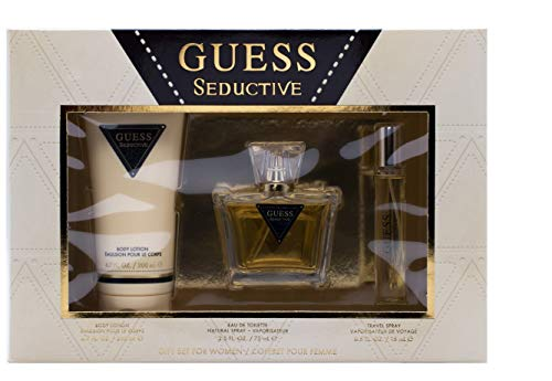 Guess Guess Seductive For Women 3 Pc Gift Set