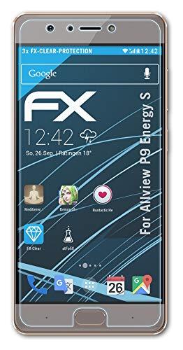 atFolix Schutzfolie kompatibel mit Allview P9 Energy S Folie, ultraklare FX Bildschirmschutzfolie (3X)