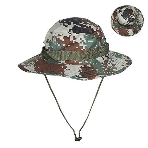 Mdsfe Sombrero de Camuflaje Unisex 12