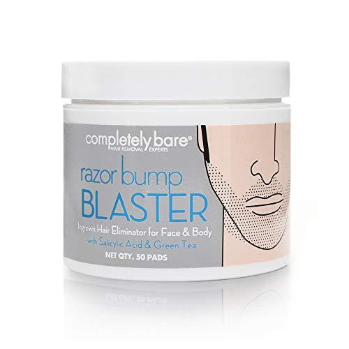 Completely Bare Razor Bump Blaster