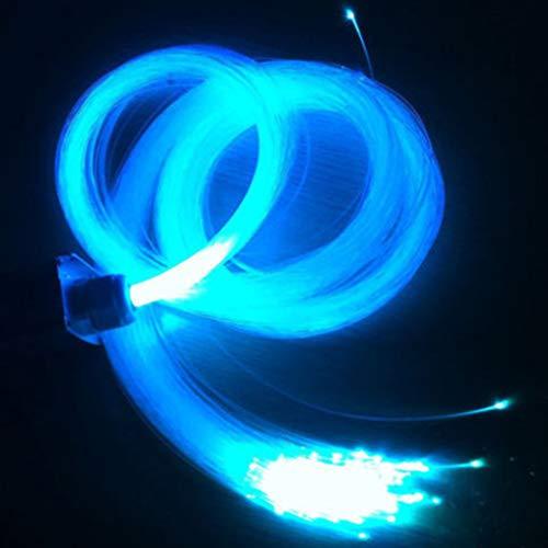 Mobestech Mudando A Cor da Fibra Óptica de Luz 0. 75Mm 100M Gelo Fibra De Cabo De Fibra Óptica Brilho Lâmpadas de Humor Céu Estrela Do Teto Luz Da Lâmpada para O Natal Em Casa