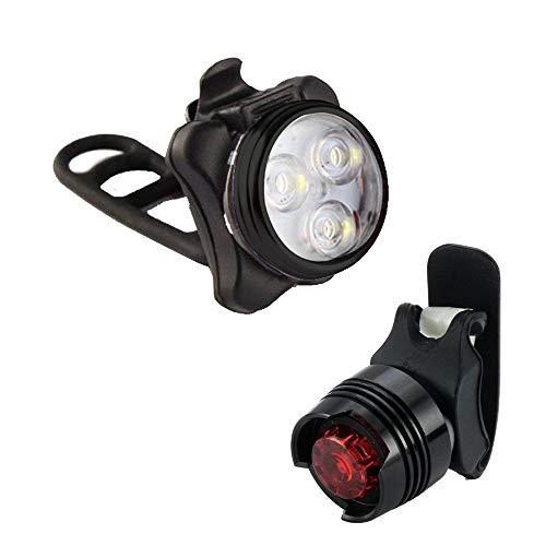 Fietslicht Oplaadbare LED Fietsverlichting Fietslampenset Koplamp Achterlicht USB Fietsaccessoires