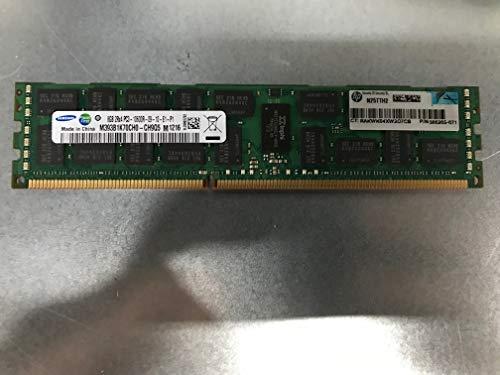 HP 64GB(8 X 8GB) Kit 8GB 2RX4 PC3-10600R 1333MHz DDR3 SDRAM 1.5V Memory Module For Proliant DL320 G6 DL360 G6 DL360 G7 DL370 G6 DL380 G6