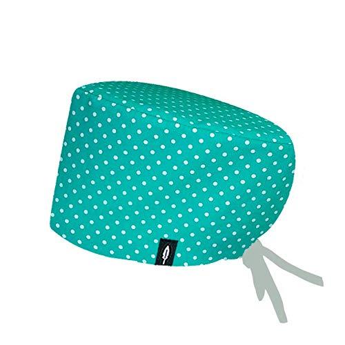 ROBIN HAT 100/% cotone Cagoule chirurgical Blue Cheveux Courts - Confort maximum Autoclave