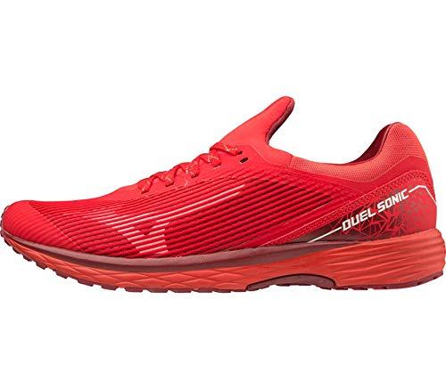 Mizuno Duel Sonic, Men's Running Shoes, Red (High Risk Red / Biking Red 56), 44.5 EU