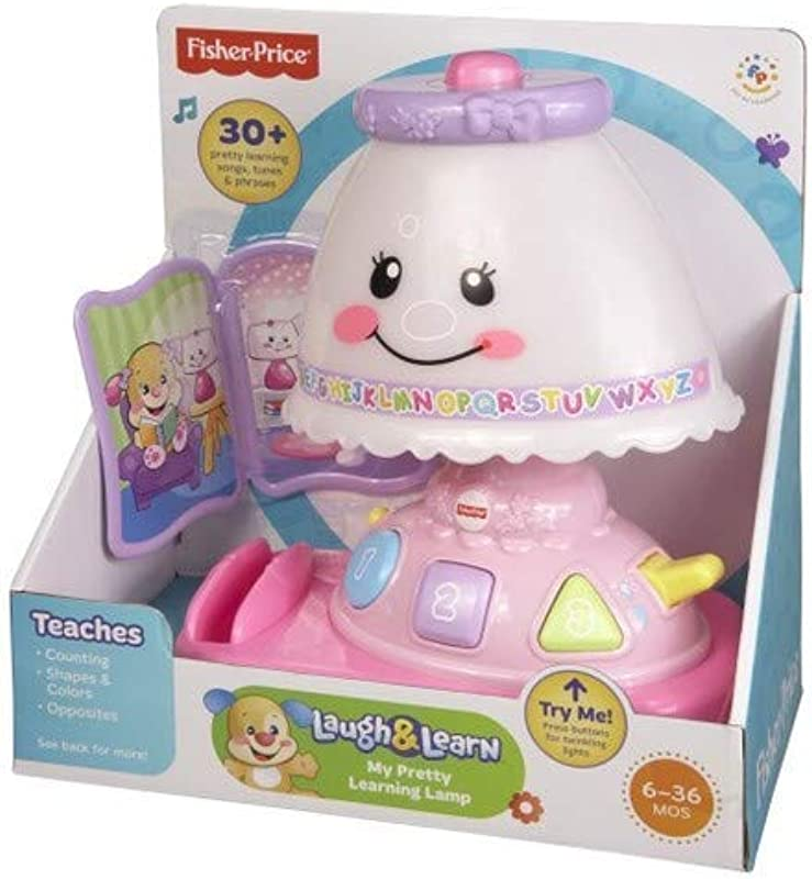Fisher Price Laugh Learn My Pretty Learning Lamp Renewed