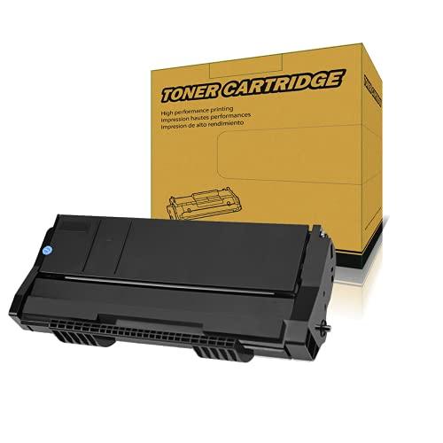 Amla Cartucho de tóner 407166 compatible con Ricoh SP100 SP100e SP100SF SP100SU SP100SFe SP100SUe SP112 SP112SF SP112SU 1200 páginas de rendimiento (negro)