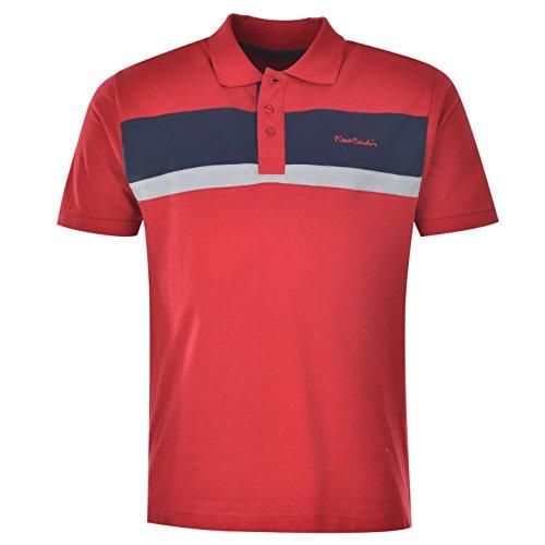 Pierre Cardin Herren Poloshirt Gr. S, Rot - Rot