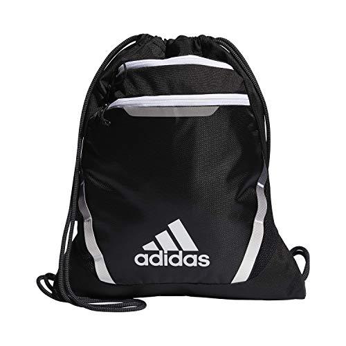 adidas Rumble Iii Sackpack, Unisex-Erwachsene, Tasche, Rumble Iii Sackpack, schwarz / weiß, Einheitsgröße