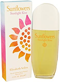 Sunflowers Sunlight Kiss by Elizabeth Arden 3.4 oz Eau De Toilette Spray for Women