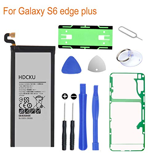 HDCKU Battery Replacement Kit for Samsung Galaxy S6 Edge Plus SM-G928 EB-BG928ABE G928A G928T G928P G928V with Full Replacement Tools and Instruction