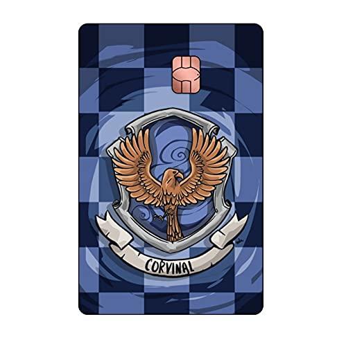 Adesivo para cartão de Crédito e Débito Harry Potter Corvinal