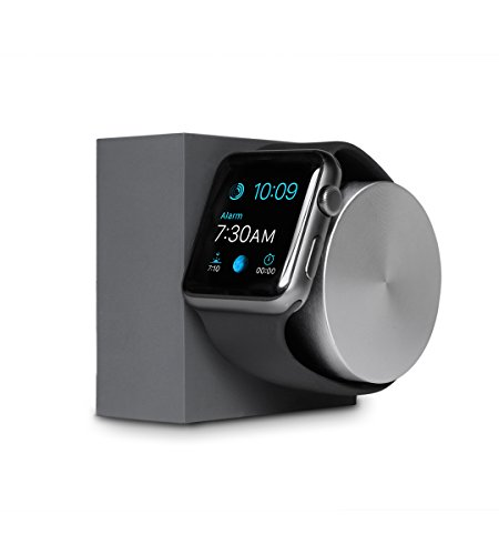 Native Union Monyue Weighted Charging Dock for Apple Watch with Rotating Arm (Slate)