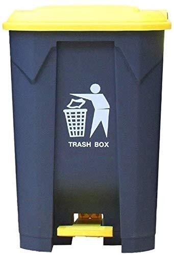 JUIO Outdoor Trash Can, Kunststoff...