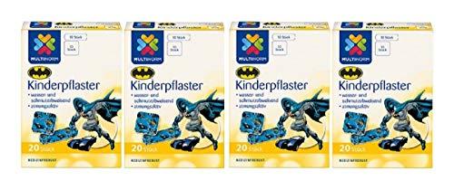 Multinorm Kinderpflaster Motiv Batmann 04x20Stk MHD:08-2023