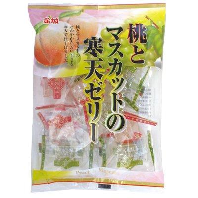 金城製菓160g 桃とマスカットの寒天ゼリー 200袋
