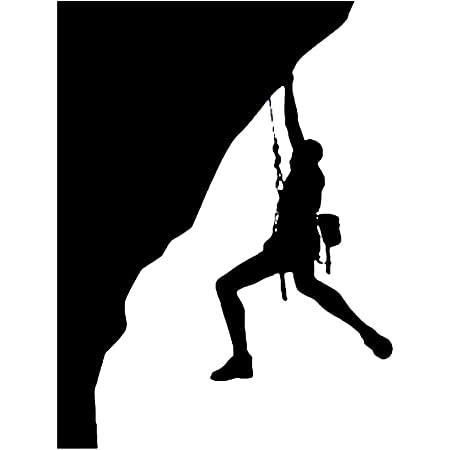 Adhesivo de escalada Escalador Apliques Deportes extremos ...