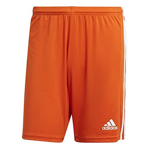 adidas, Squad 21 SHO, Pantaloncini, Squadra Arancione/Bianco, M, Uomo