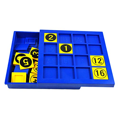 sharprepublic 16pcs Sudoku Board Puzzle Game Gioco da Tavolo Digitale Block Learning Giochi per Adulti
