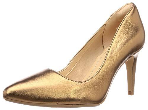 Clarks Damen Laina Rae Stiefeletten, Silber (Bronze Metallic Bronze Metallic), 40 EU