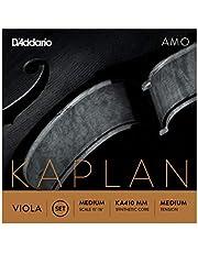 D'Addario Kaplan Amo - Juego de cuerdas para viola (escala media, tensión media)