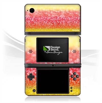 Nintendo DS Case Skin de vinilo adhesivo decorativo España Bandera de purpurina: Amazon.es: Videojuegos