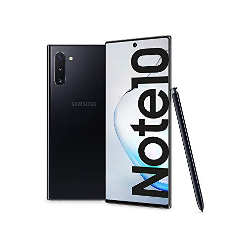 "Samsung Galaxy Note10 Smartphone, Display 6.3"", 256 GB, RAM 8 GB, Batteria 3500 mAh, 4G, Dual SIM, Android 9 Pie, Aura Black [Versione Italiana] 2019"