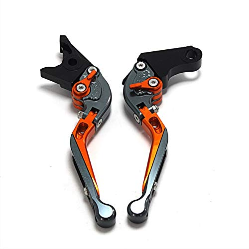 Adjustable Folding Extendable 1Motorbike Red Brake Clutch Levers for Ducati M1100 S EVO MONSTER 1100 2009-2013 (Color : G)