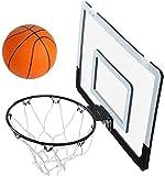 Mini Canasta de Baloncesto con Altura de aro de Baloncesto - Mini Canasta Colgante y Pelotas para Interiores y Exteriores