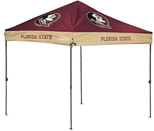 Rawlings NCAA 10x10 Straight-Leg Tailgate Canopy, Florida State Seminoles