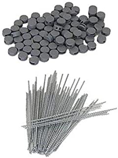 comprar comparacion HMF 45200-100 precintos 8 mm + 100 precintos de Alambre 100 mm