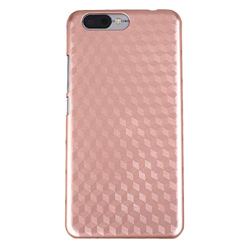 Cases for Phone for UMI Z Metal Painting PC Protective Case Back Cover Shell (Black) (Color : Rose Gold)