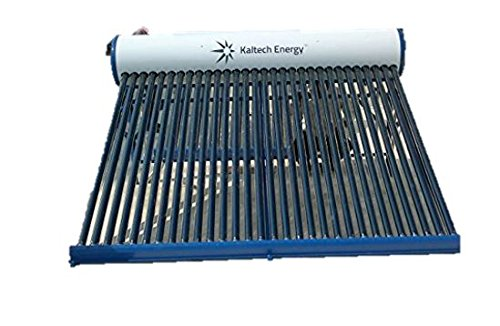 Kaltech Energy Stainless Steel Solar Water Heater with corrugated tube , 100...