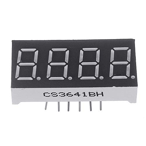 ILS - 1PC 0.36Inch 7 Segment 4 Digit Common Anode 0,36 Zoll RED LED Digital Display